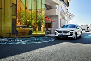 Обои Baojun Белый Металлик Универсал Китайские RC-5W, 2020 Автомобили картинки