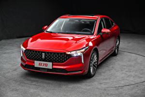 Фотографии Красная Металлик Китайские FAW Bestune B70, 2020 авто