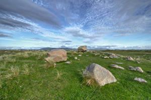 Фотография Ирландия Камень Траве Gweedore, Donegal