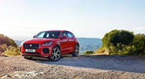 Фотография Jaguar Красный Металлик E-Pace, R-Dynamic, First Edition, 2017 авто