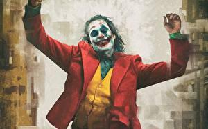 Обои Джокер 2019 Джокер Клоун Фильмы картинки