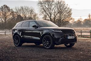 Обои Land Rover Черный SUV 2020 Velar R-Dynamic Black Limited Edition Автомобили картинки