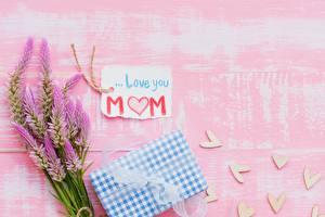 Картинка День матери Английская Слова цветок