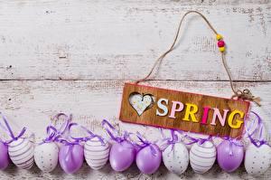 Обои Весна Пасха Яйца Английский Слово - Надпись Автомобили картинки