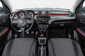 Фотографии Сузуки Салоны Рулевое колесо Swift Sport Hybrid, 2020