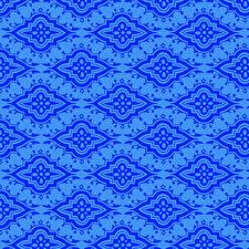 Фотография Орнамент Текстура Бумага Синие