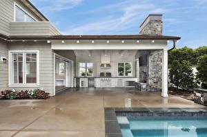 Обои Штаты Дома Интерьер Калифорнии Особняк Дизайна Newport Beach Города