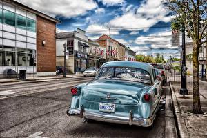 Фото Канада Торонто Дома Улица Облака HDRI Города Автомобили