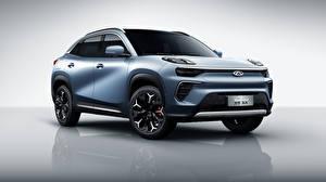 Обои Chery Кроссовер Металлик Китайские eQ5, S61, 2020 машины
