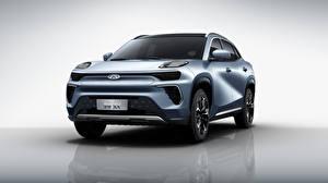 Обои Chery CUV Металлик Спереди Китайский eQ5, S61, 2020 автомобиль