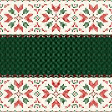 Фотографии Рождество Орнамент Текстура Шаблон поздравительной открытки Свитер