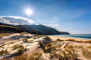 Фото Ирландия Берег Солнца Песка Ardara, Donegal