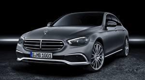 Фотография Mercedes-Benz Седан Серые Металлик E-class, Exclusive Line, 2020 автомобиль