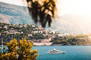 Фотография Монако Монте-Карло Яхта город