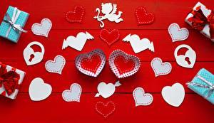 Фотографии День святого Валентина Серце Купидон