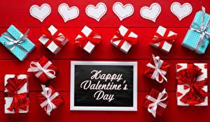 Фото День всех влюблённых Сердце Подарков Английская Слова