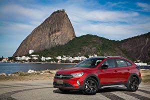 Фотография Volkswagen Красная Металлик 2020 Nivus Highline 200 TSI Launching Edition Latam машина