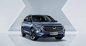 Фотографии Спереди Универсал Металлик Китайские Wuling Victory, 2020 Автомобили