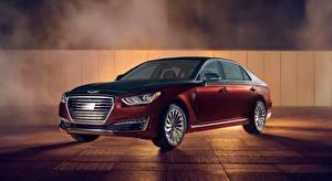 Фотографии Hyundai Седан Металлик Genesis G90, Vanity Fair, Special Edition, US-spec, 2018 Автомобили