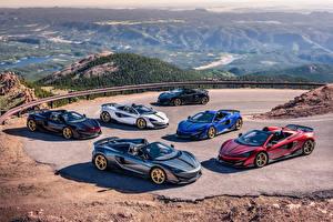 Фотография McLaren Много Родстер 2019 MSO 600LT Spider Pikes Peak Collection машина