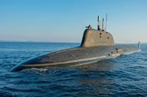 Картинка Подводные лодки Российские project 885m, Ash-M военные