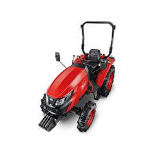 Обои Трактор Красная Сверху Белый фон Zetor Compax CL 35, 2020