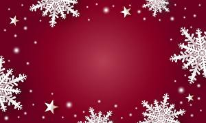 Фотография Новый год Шаблон поздравительной открытки Снежинка