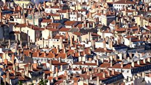 Картинка Дома Франция Много Краши Lyon город