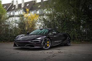 Фотография McLaren Черный Металлик 2018-20 Manhart McLaren 720S Автомобили