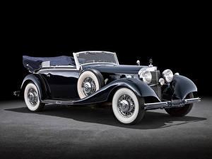 Фотография Mercedes-Benz Ретро 500K Cabriolet B (W29), 1934–36 автомобиль