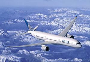 Фотография Самолеты Пассажирские Самолеты Boeing B787 Авиация