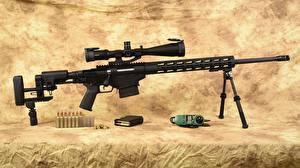 Обои для рабочего стола Винтовка Снайперская винтовка Ruger caliber 6.5 Армия