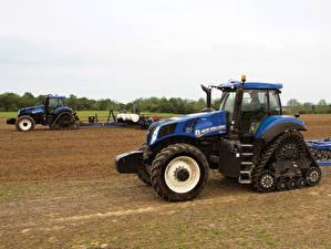 Фотографии Сельскохозяйственная техника Трактора 2015-20 New Holland T8.435 SmartTrax
