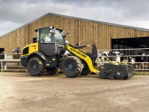 Картинка Сельскохозяйственная техника Тракторы 2015-20 New Holland W70C HS