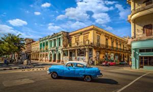 Фотография Куба Дома Улица Havana Города