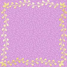 Картинки Листья Шаблон поздравительной открытки