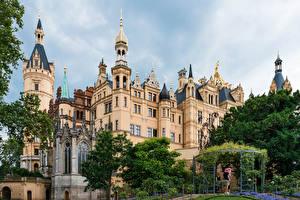Фото Германия Замок Дизайна Schwerin castle