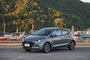 Картинка Hyundai Серые Металлик HB20 Diamond Plus, 2020 авто