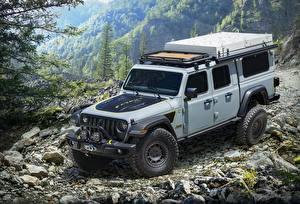Фотография Джип SUV Серая 2020 Gladiator Farout Concept машины