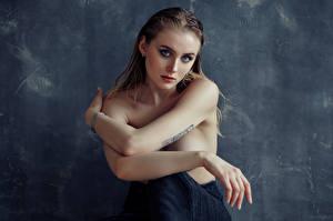 Картинка Модель Взгляд Руки Kate, Evgeniy Bulatov