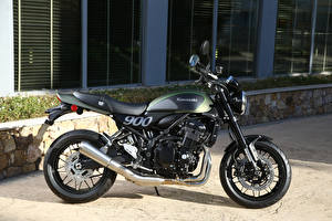 Обои Кавасаки Сбоку 2017-20 Z900 Worldwide мотоцикл