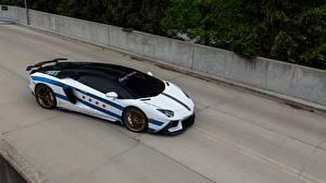 Обои Ламборгини Стайлинг Aventador, Chicago Motor Cars Автомобили