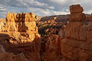 Картинка США Парк Утес Каньоны Bryce Canyon National Park Природа