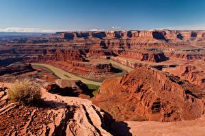 Картинка Штаты Парк Река Каньоны Colorado River, Canyonlands National Park