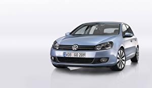 Фотография Volkswagen Металлик Спереди Golf 5-door (Typ 5K), 2008–12 авто