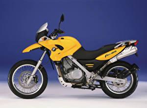 Фото BMW - Мотоциклы Желтых Сбоку F 650 GS (R13), 1999–2003 Мотоциклы