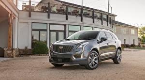 Фотографии Cadillac Серая CUV XT5, Premium Luxury, 2019 авто