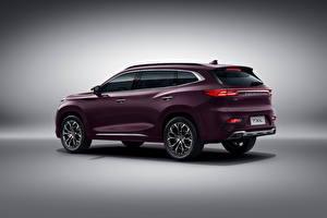 Обои для рабочего стола Chery Кроссовер Металлик Китайская Exeed TXL, 2019 Автомобили