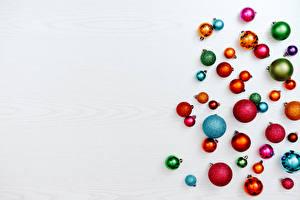 Обои Рождество Много Шаблон поздравительной открытки Шарики