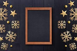 Картинки Новый год Снежинки Шаблон поздравительной открытки